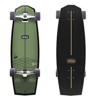 SKATE SIMULADOR DE SURF SURFEELING MR. POP NEW GREEN